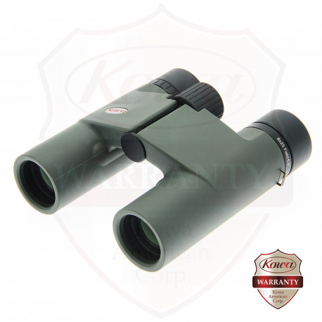 BD25-8 Compact 8x25mm Roof Prism Binoculars, Green Body