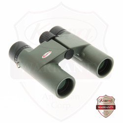 BD25-10 Compact 10x25mm Roof Prism Binoculars, Green Body