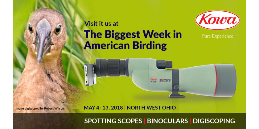 Exhibitor at The 2018 Biggest Week in American Birding